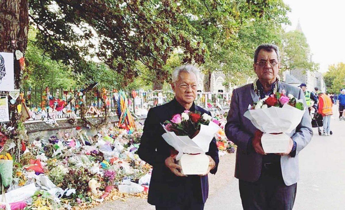 Fritch et Tong Sang rendent hommage aux victimes de l'attaque de Christchurch