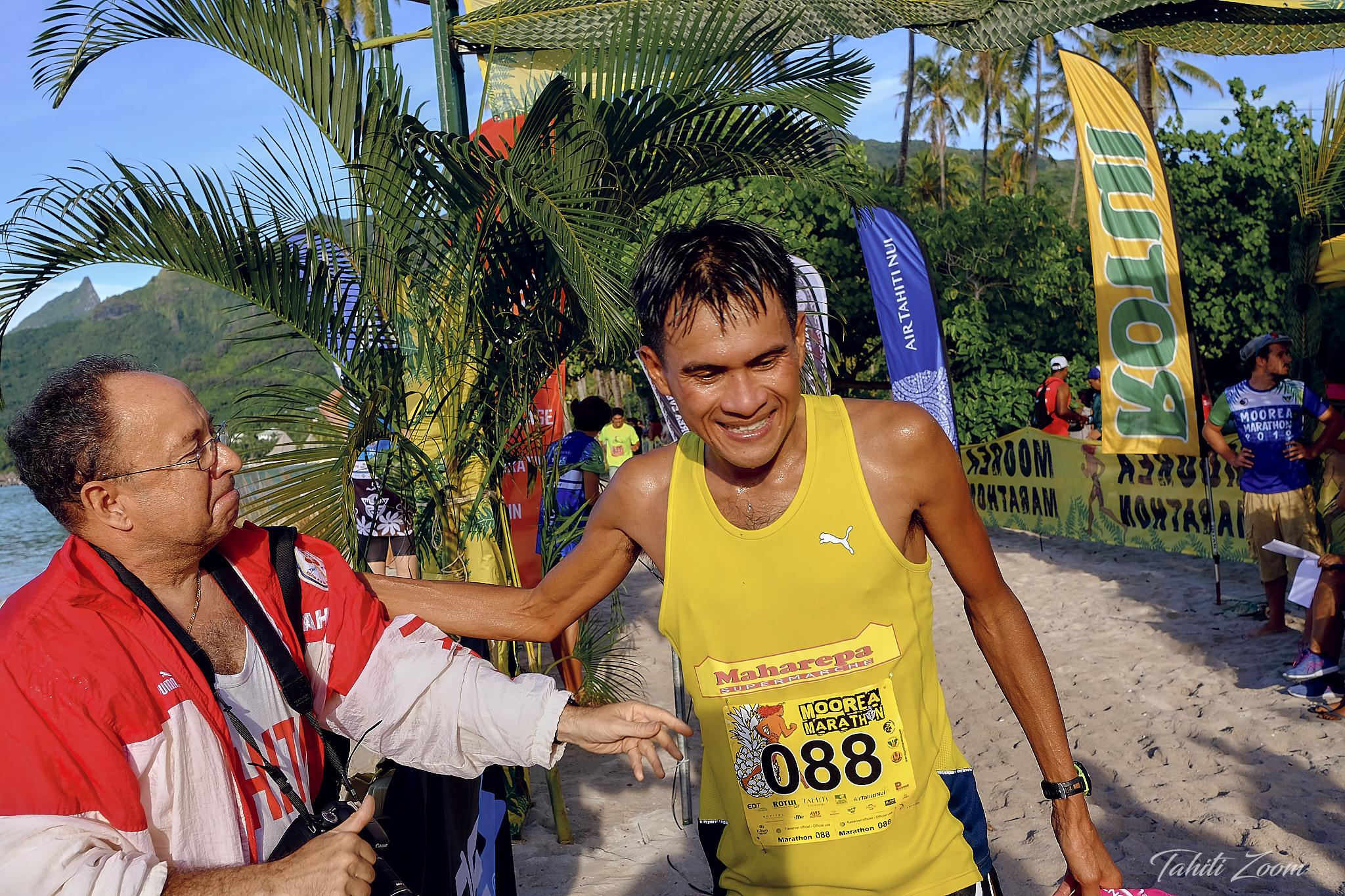 Tutea Degage remporte la course reine © Tahiti Zoom/Moorea Events
