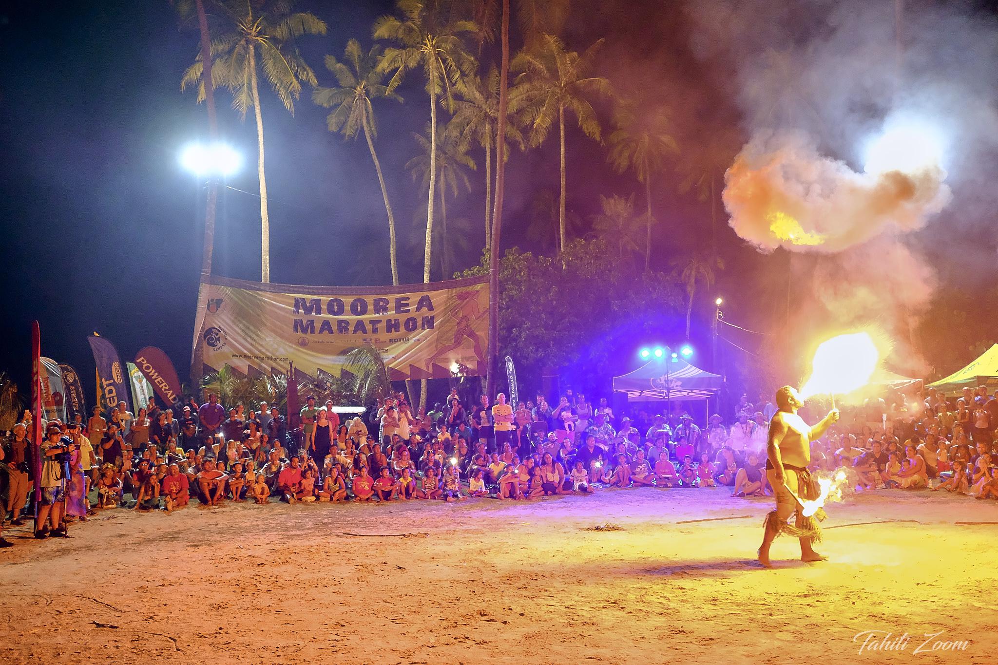 De la danse du feu était au programme © Tahiti Zoom/Moorea Events