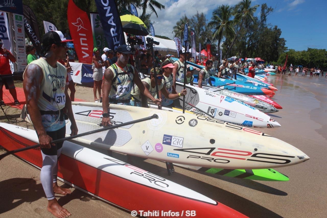 La course fait partie du circuit mondial de la Paddle League