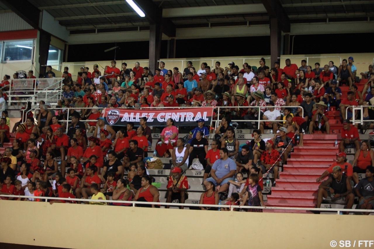 Les supporters de Central étaient là pour soutenir leur équipe