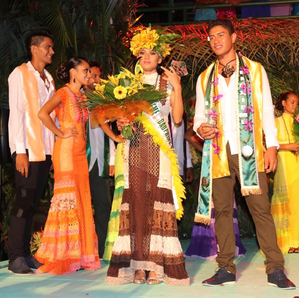 Emerante Viriamu et Punua Make repartent avec les titres de 2èmes dauphins.