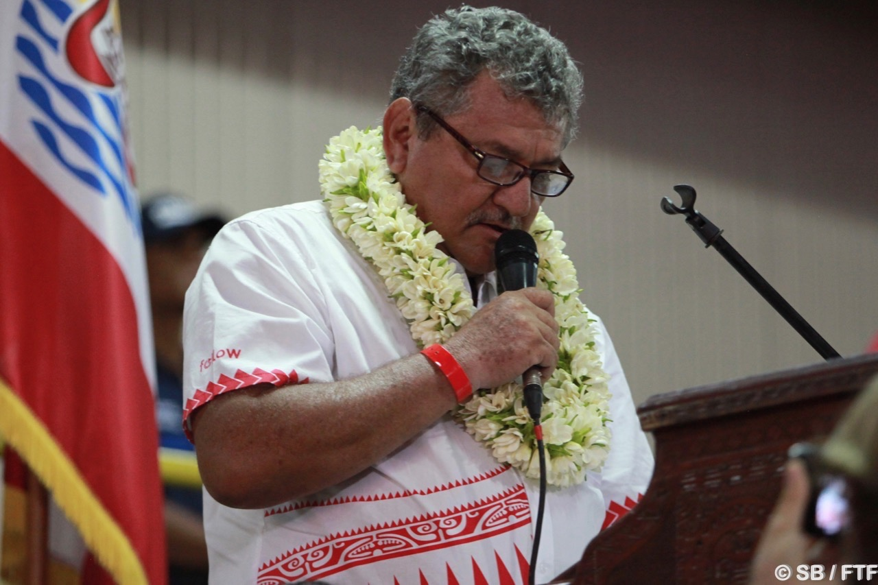 Thierry Ariitotima, président de la FTF