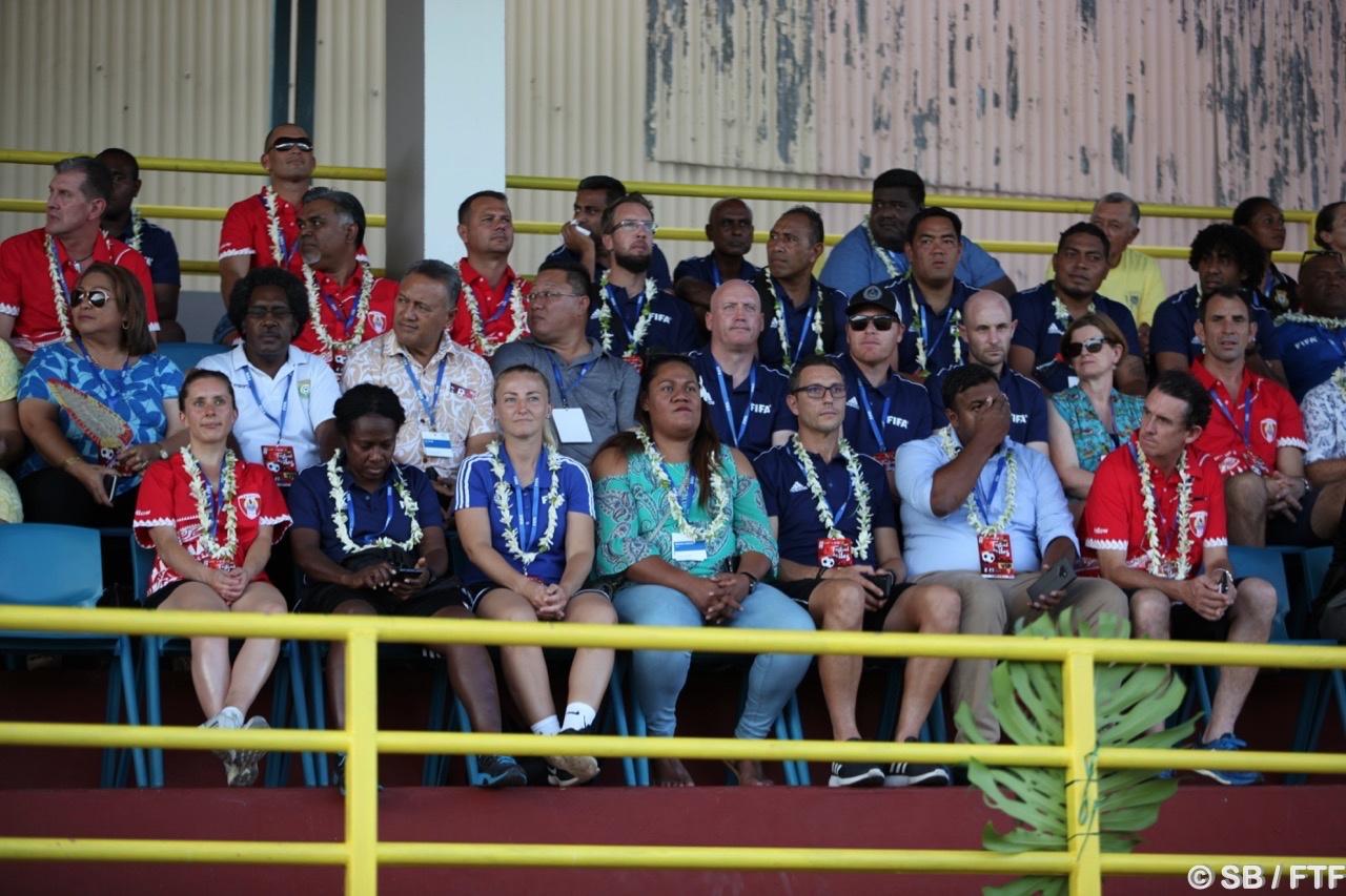 Des nombreux responsables du football international étaient présents