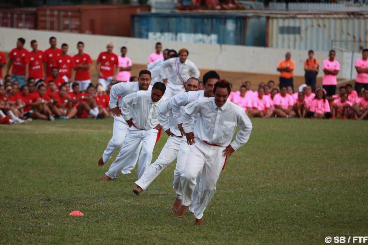 La délégation de Huahine