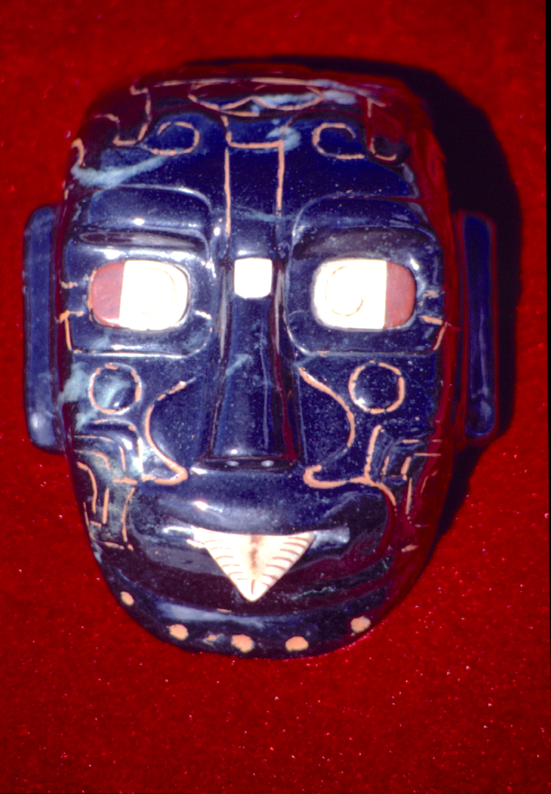 Masque de Rio Azul, Peten (Mexique).