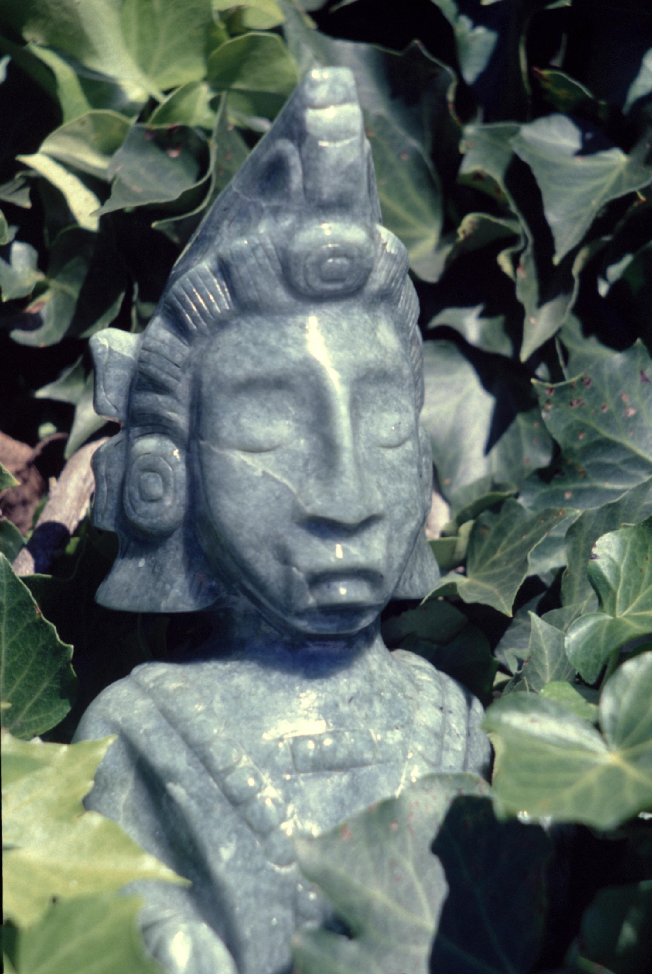 Le dieu du maïs, d'une importance capitale dans le panthéon maya d'autrefois.