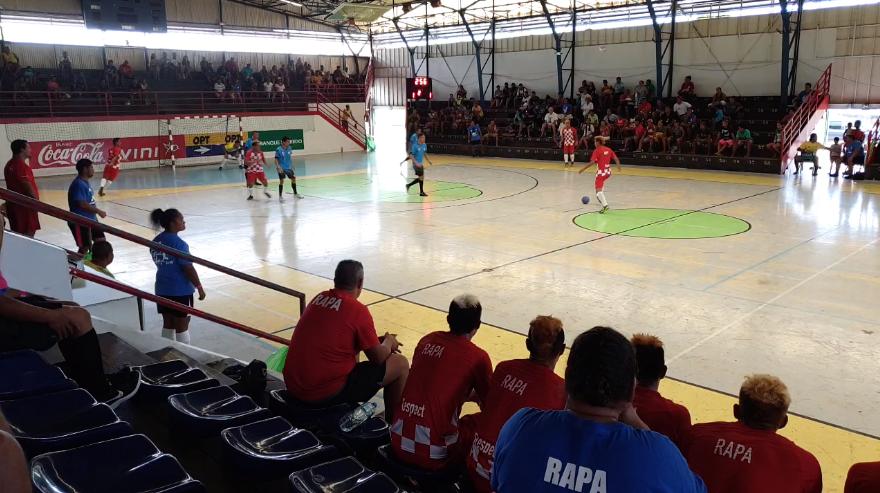 Mercredi dernier, la première équipe de Rapa s'est illustré face à Hao, avec quatre buts à un.