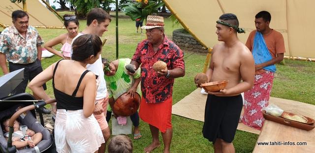 Pour cette journée culturelle, diverses associations ont accepté de partager avec le public et les touristes leur savoir-faire.