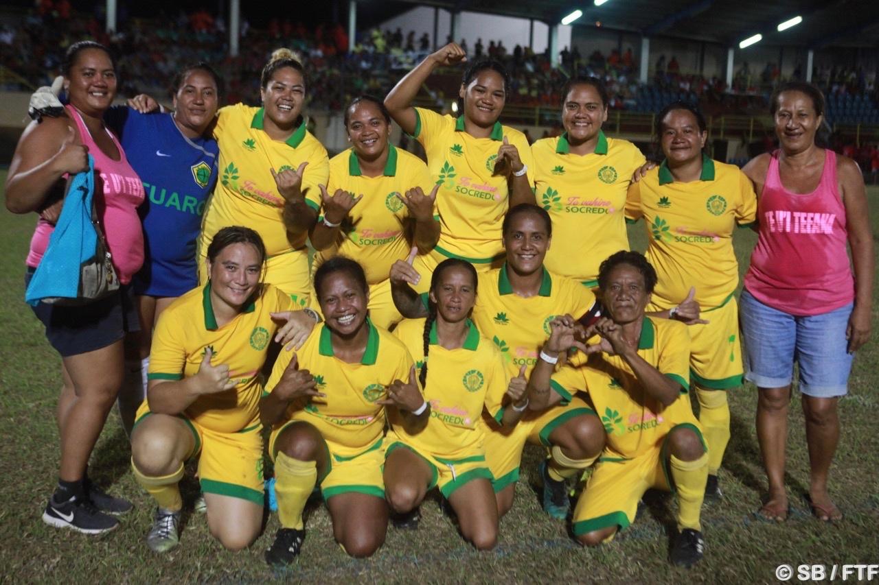 Les sénior de Tefana ont remporté le tournoi féminin