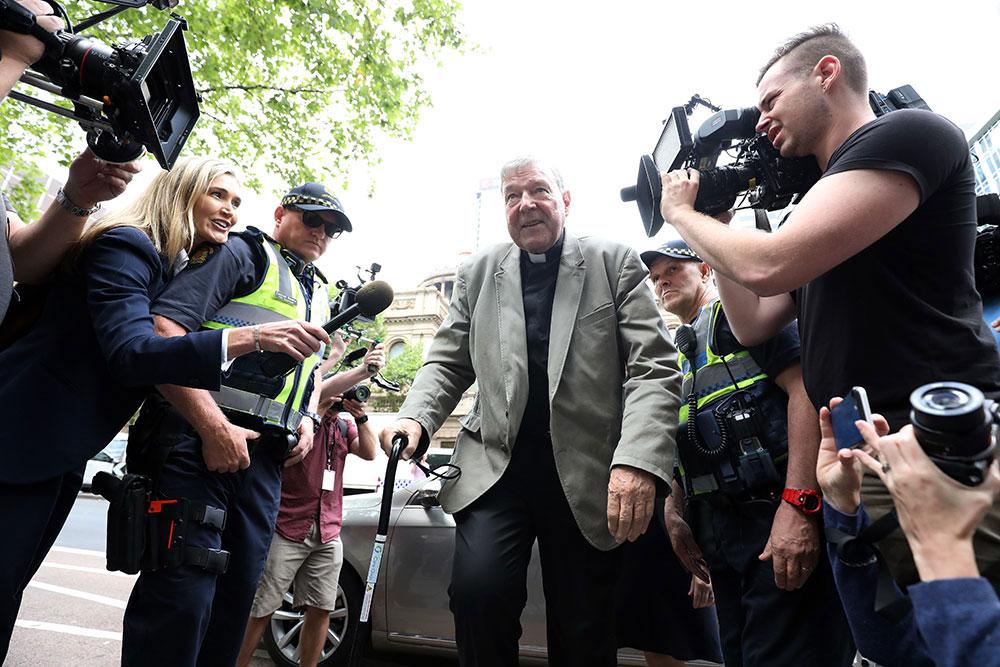 """Affaire Pell: des poursuites contre les médias """"sans précédent"""" en Australie"""