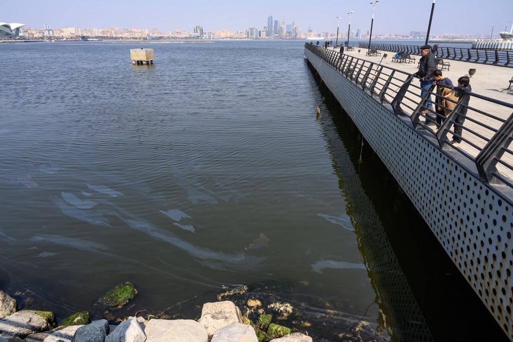 Phoques, caviar et pétrole: la mer Caspienne menacée par la pollution