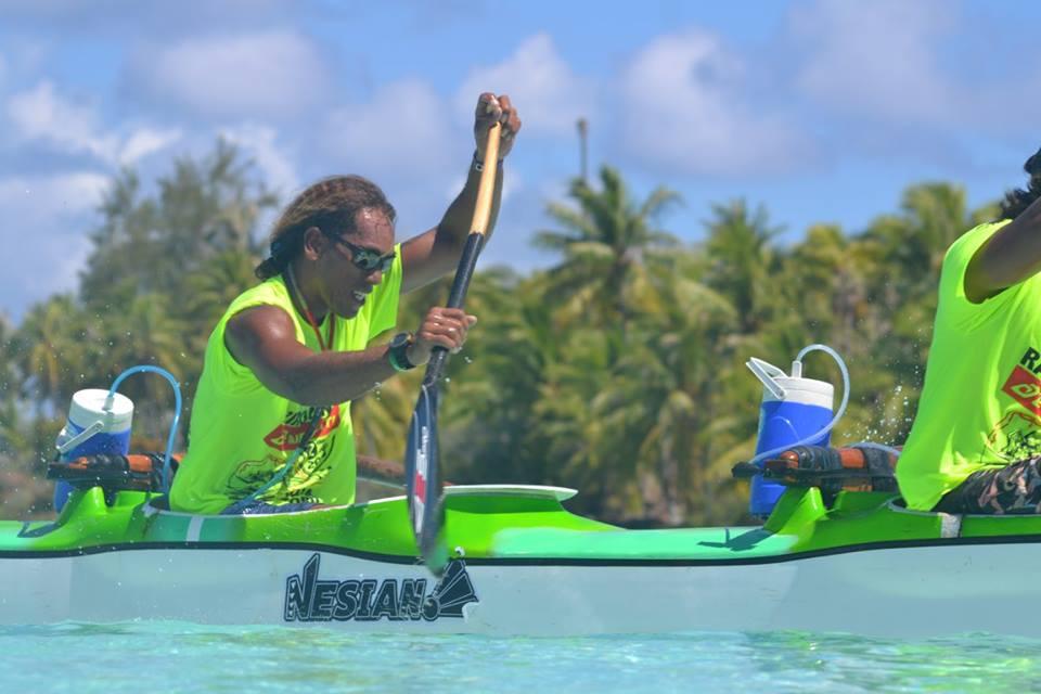 Rairoa Nui Va'a Toru: Shell Va'a impose sa loi à Rangiroa