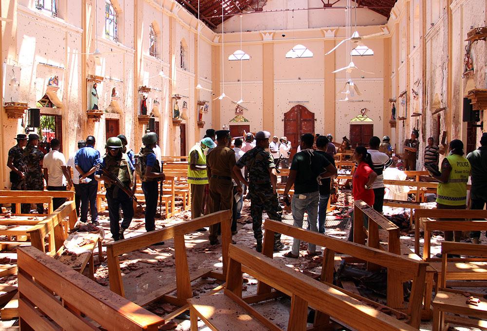 Le Sri Lanka traque les islamistes responsables des attentats de Pâques