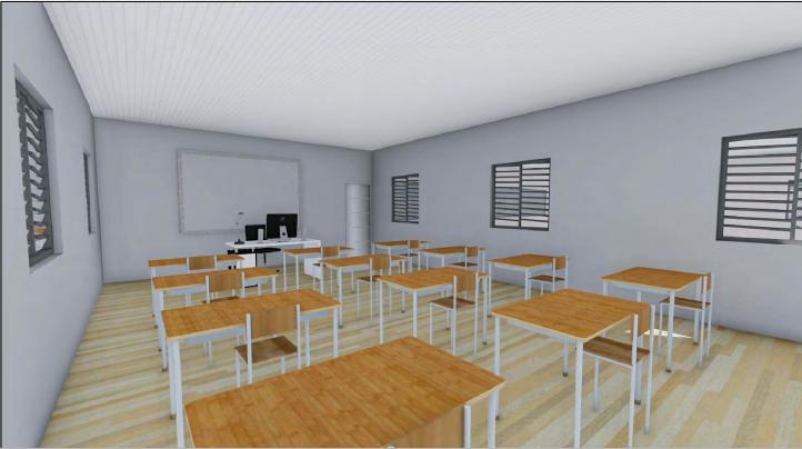 Une salle de repos, des machines à laver, une salle de réunion, une infirmerie, des salles de formation… sont prévus dans le bâtiment.