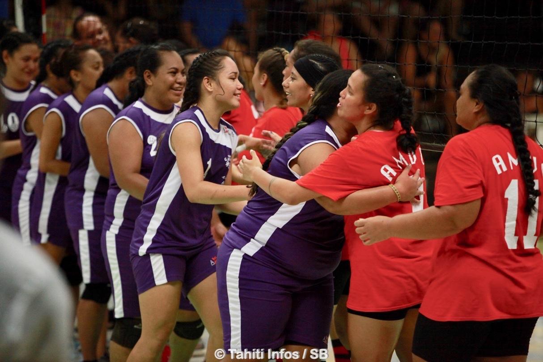 Volley-ball – Challenge de Polynésie 2019 : La victoire pour Pirae et Mataiea