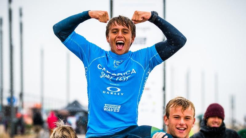 Surf Pro junior- Caparica Surf Fest : Belle victoire pour Kauli Vaast