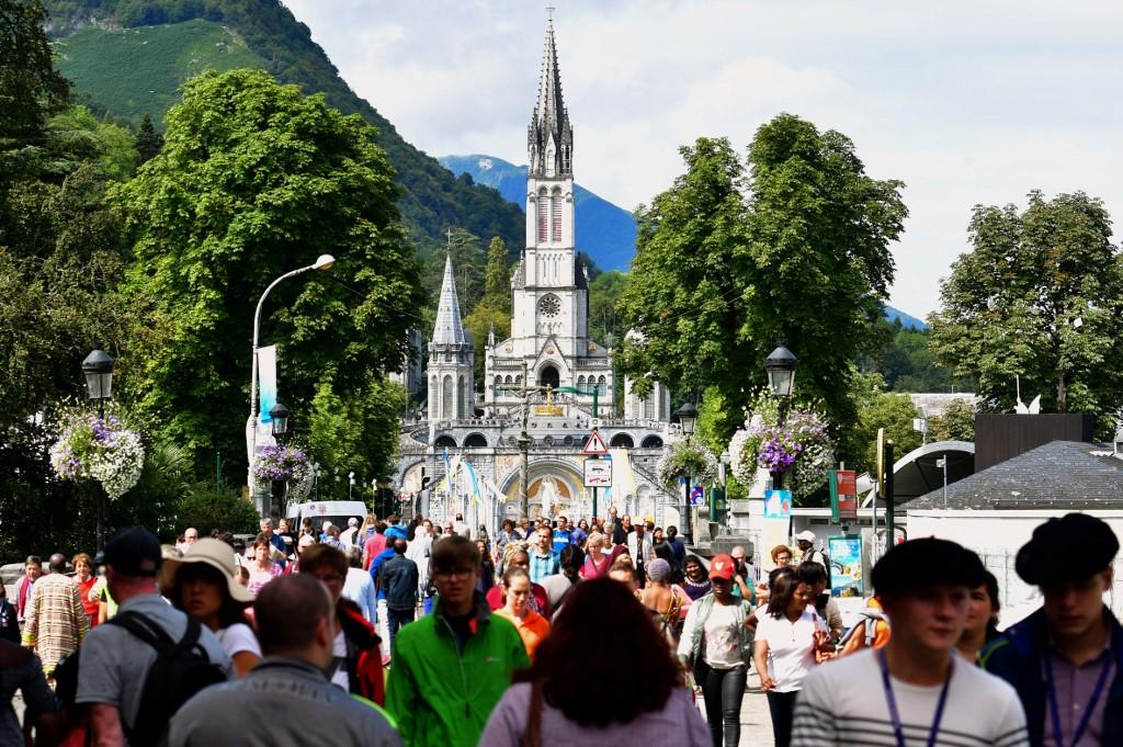 Photo d'archives de la ville de Lourdes.
