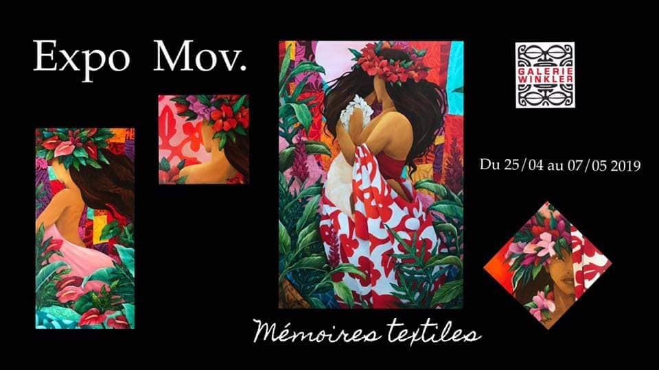 """Mov présente """"Mémoires textiles"""" à la galerie Winkler"""