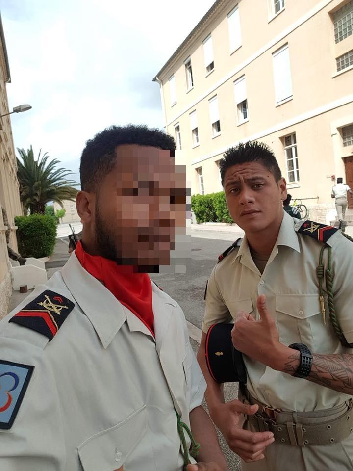 """""""Il n'a jamais eu d'embrouille à Tahiti avant de s'engager dans l'armée en mai 2017. C'est un garçon gentil et qui est très croyant"""", insiste le père de Mike."""