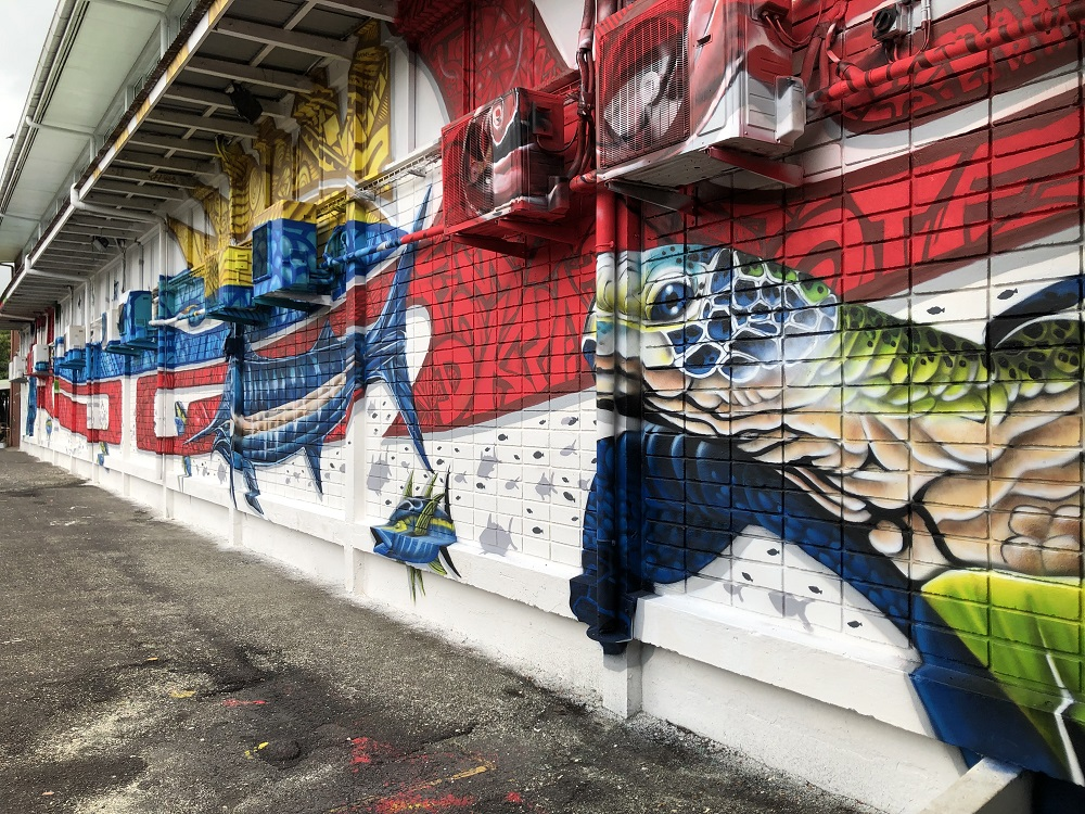 Le street-art s'invite à l'école To'ata