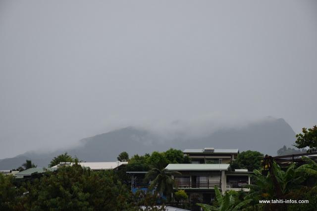 Les pluies reviennent sur l'archipel de la Société