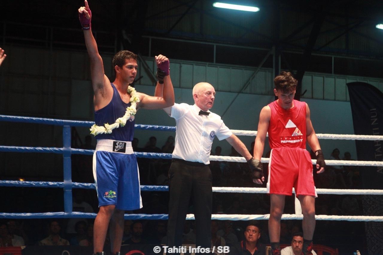 Tapuatea Grand-Pittman a bien géré son combat