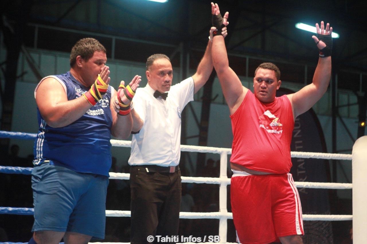 Victoire indiscutable pour Amoroa Atiu venu exprès de Bora Bora