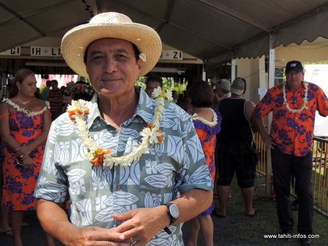 Buillard annonce sa candidature à Papeete