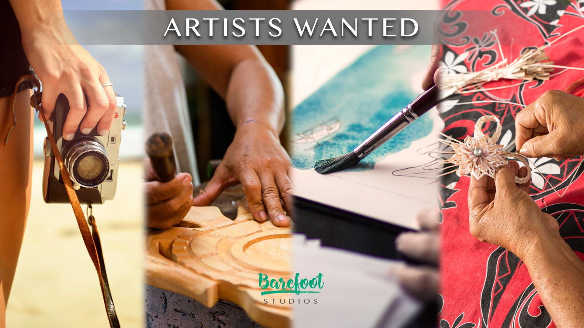 Artistes recherchés pour une exposition caritative en faveur de nos lagons