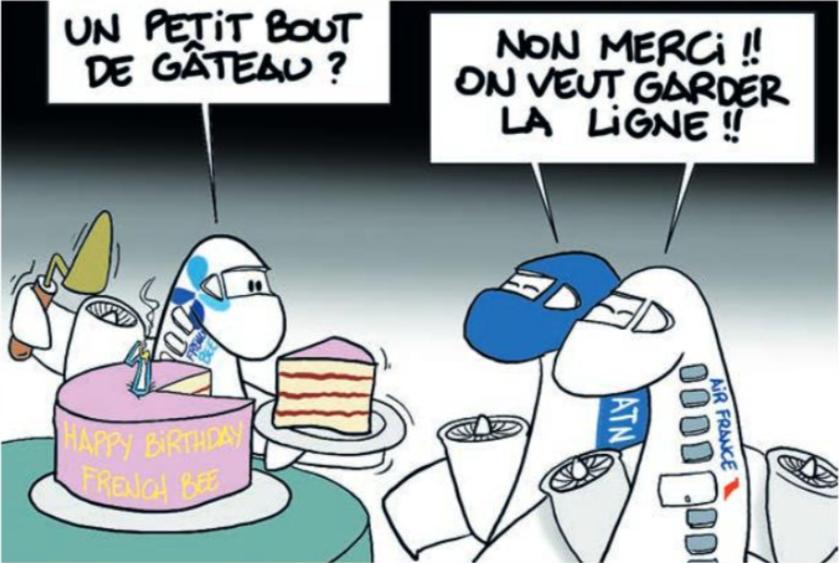 """"""" La part du gâteau """" par Munoz"""