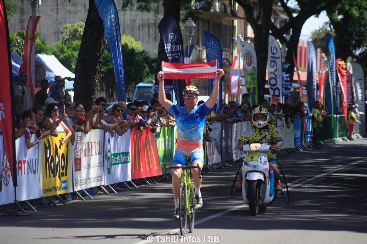 Un évènement qui rassemble le plus gros peloton cycliste de Polynésie