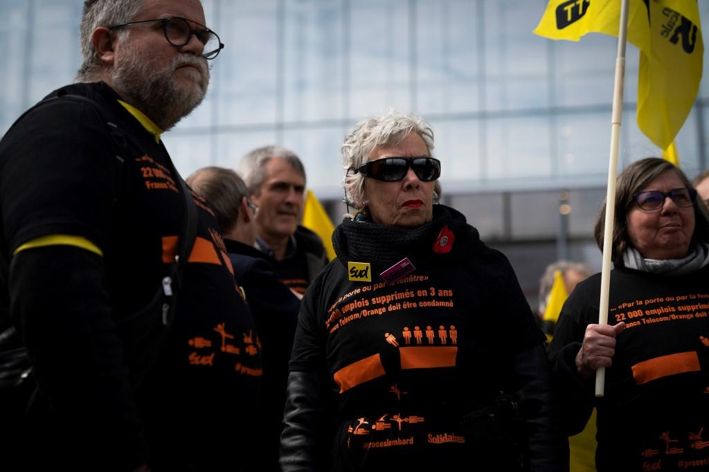 Suicides à France Télécom: début du procès de l'entreprise et de ses ex-dirigeants