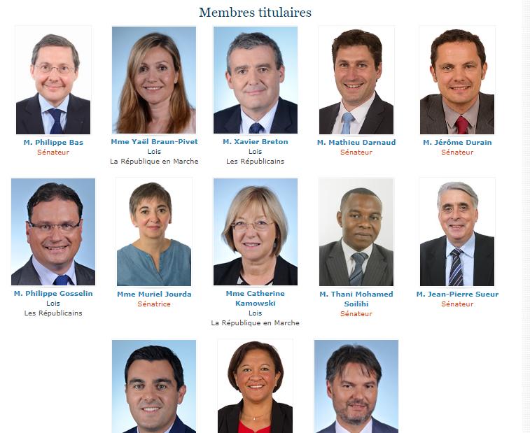 Toilettage du statut :  sénateurs et députés vont trancher