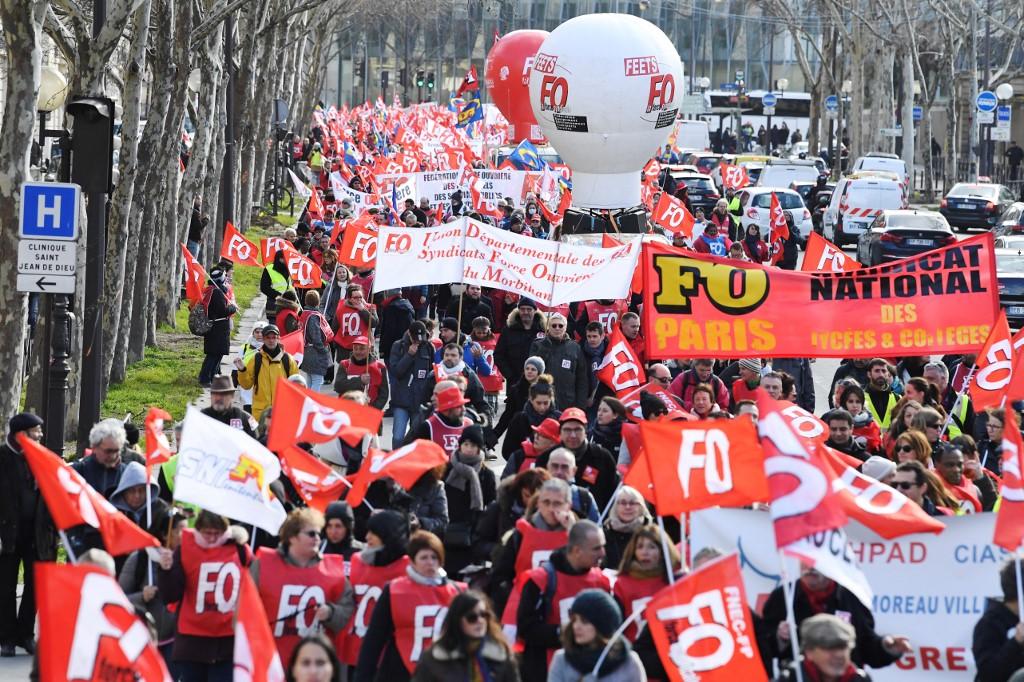 Les fonctionnaires dans la rue jeudi pour protester contre la réforme des services publics