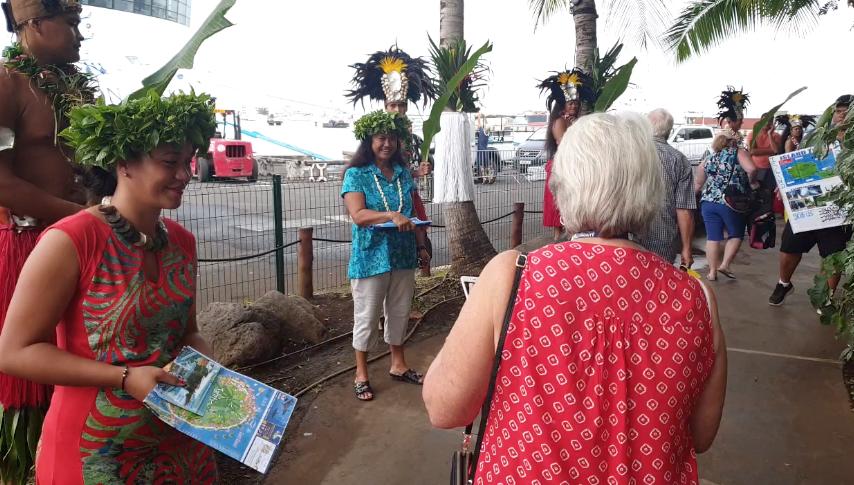 50 440 touristes ont visité le fenua au début de l'année