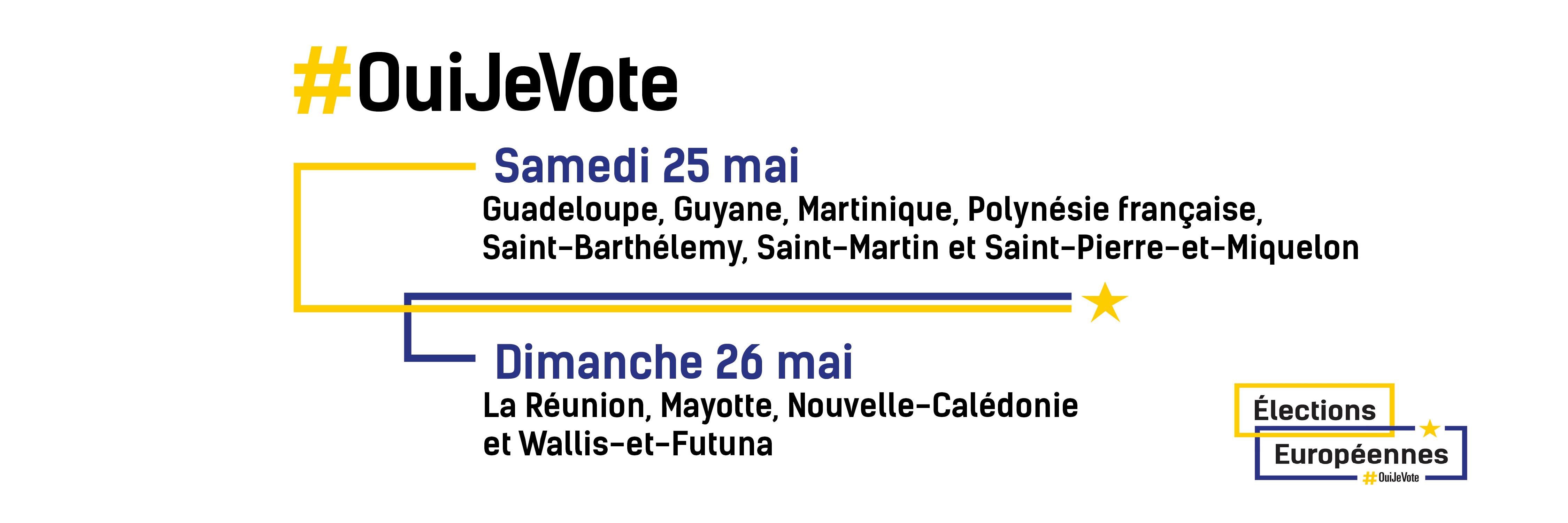 Européennes : La campagne électorale débute lundi