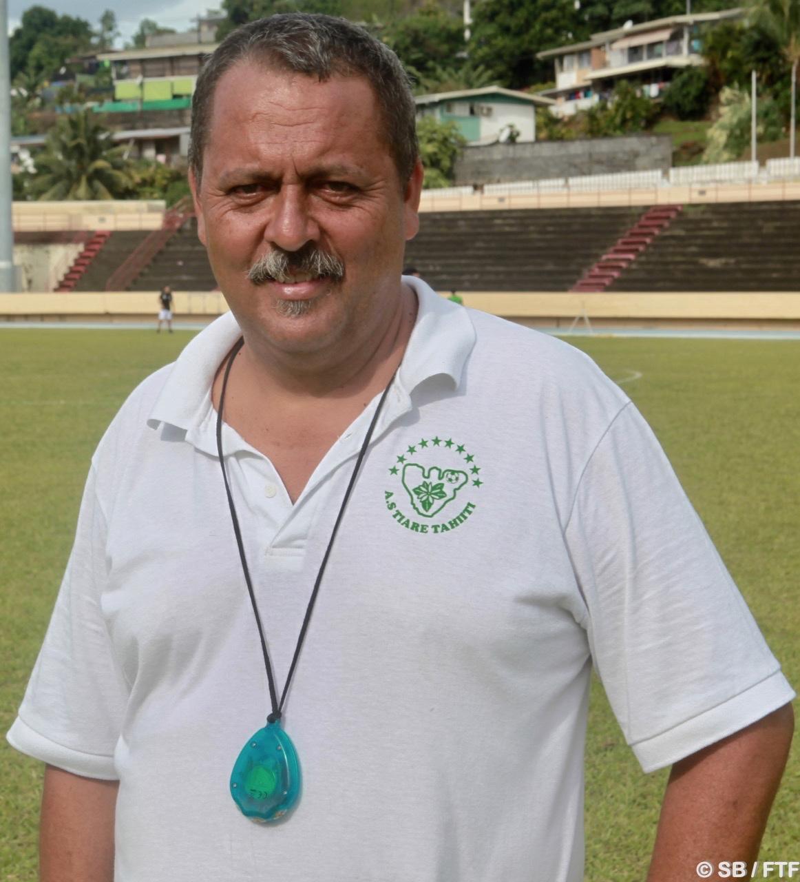 Ve-atea Terai, coach de Tiare Tahiti