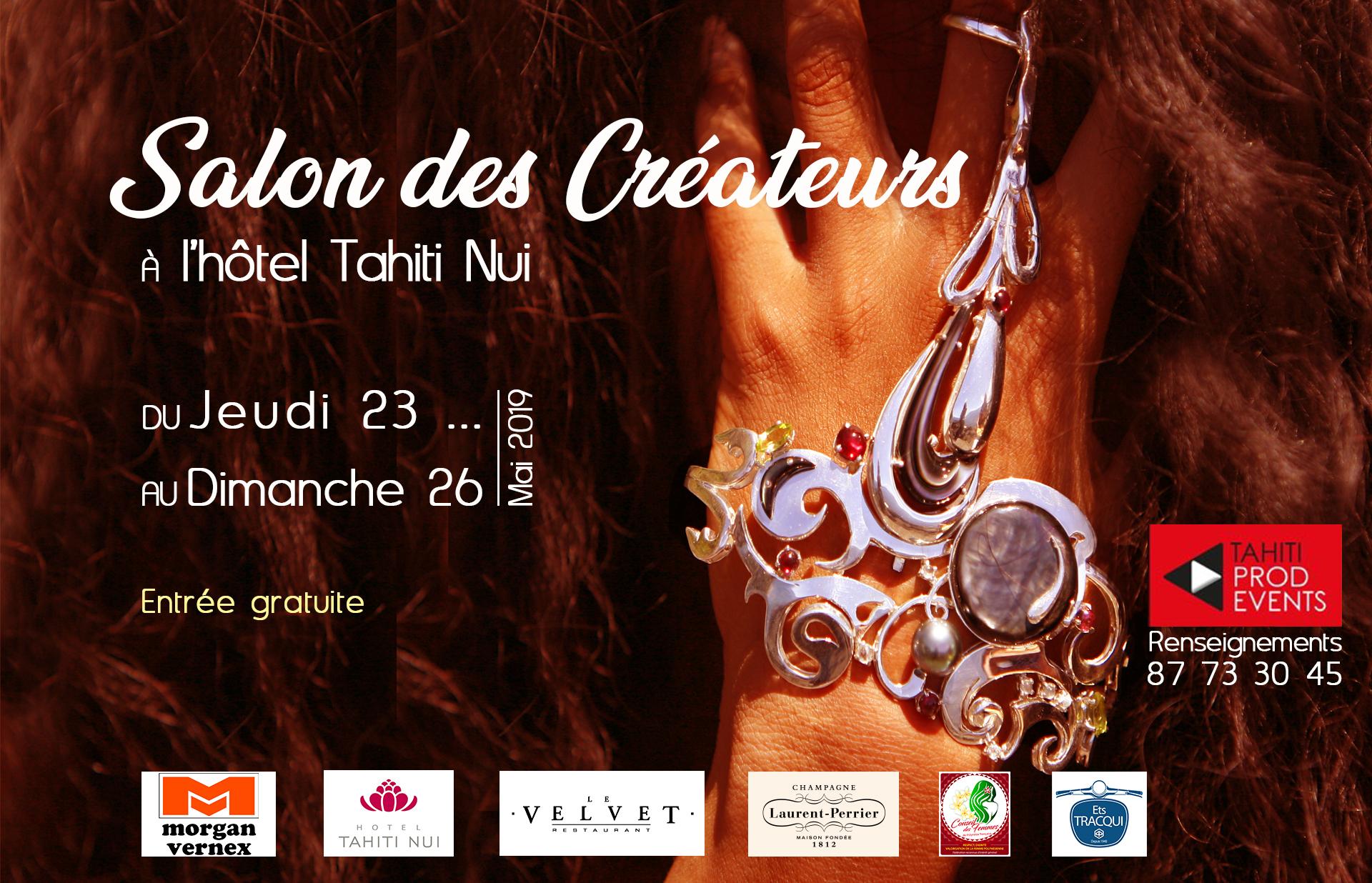 Le Salon des créateurs du 23 au 26 mai