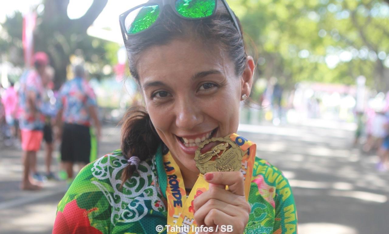 Kylie Vernaudon remporte la Ronde 55 km