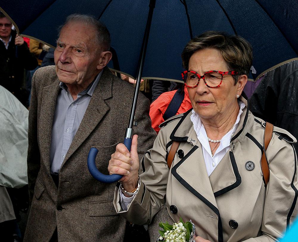 Viviane (73 ans) et Pierre (90 ans), parents de Vincent Lambert.