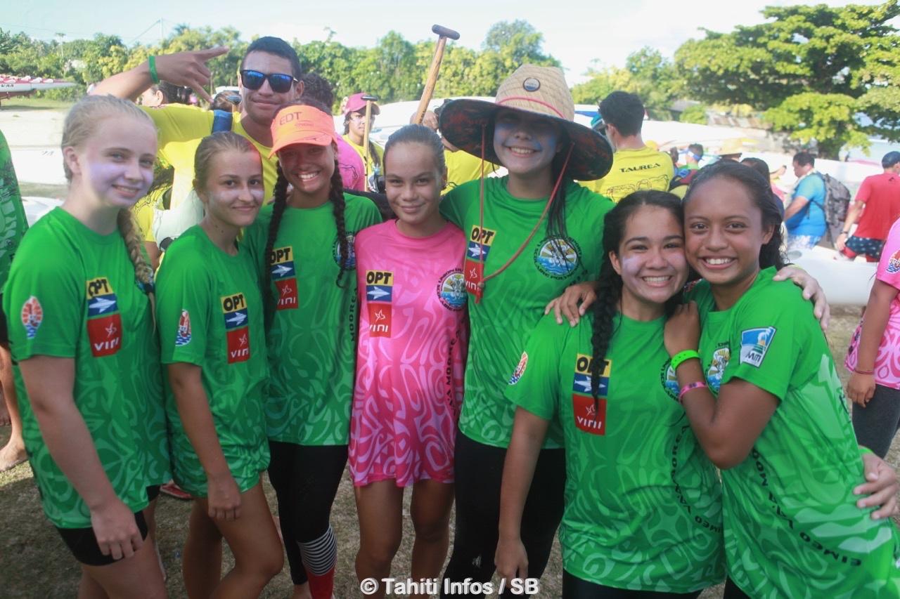 Les jeunes du collège de Pao Pao