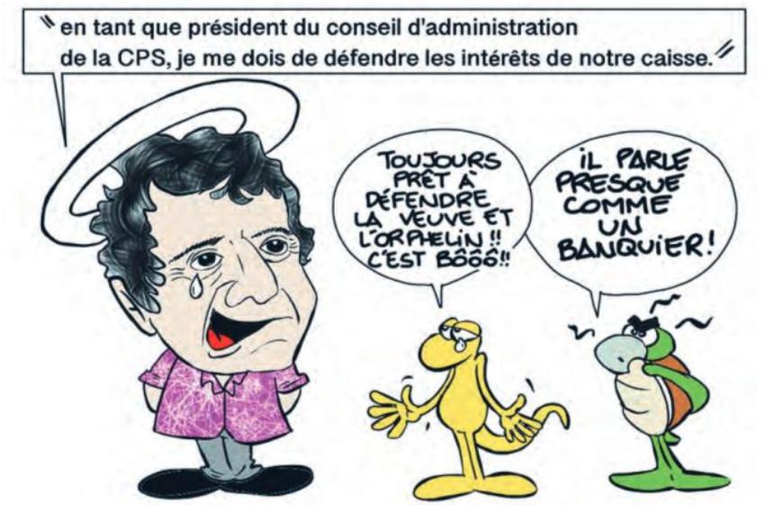 """"""" Galenon tient la Caisse """" par Munoz"""