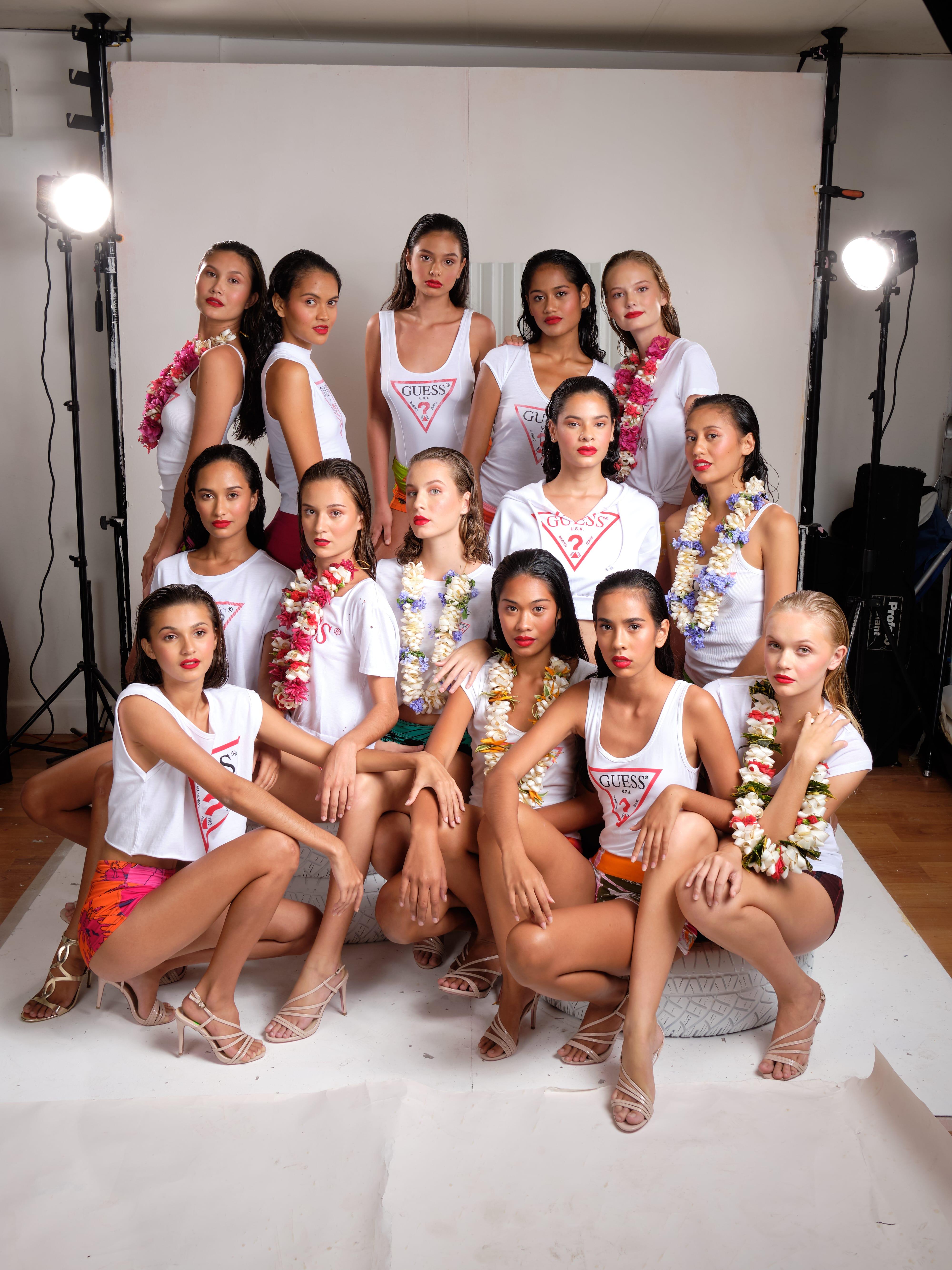 Quatorze jeunes filles ont été retenues cette année. Crédit TEIKIDEV.