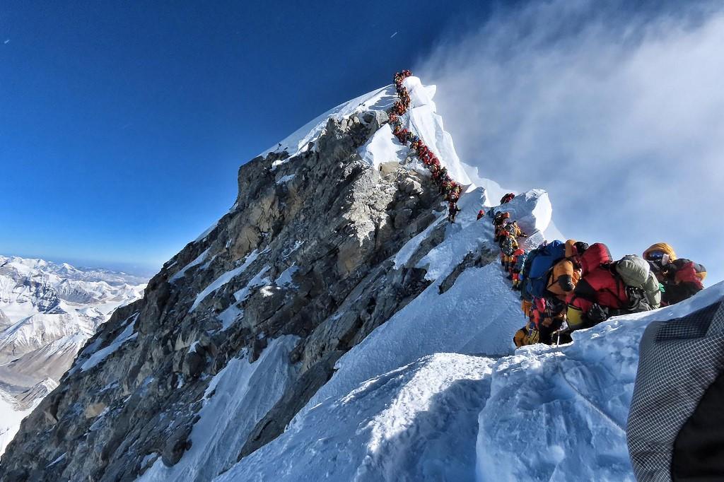 Embouteillage sur l'Everest, deux nouveaux décès d'alpinistes
