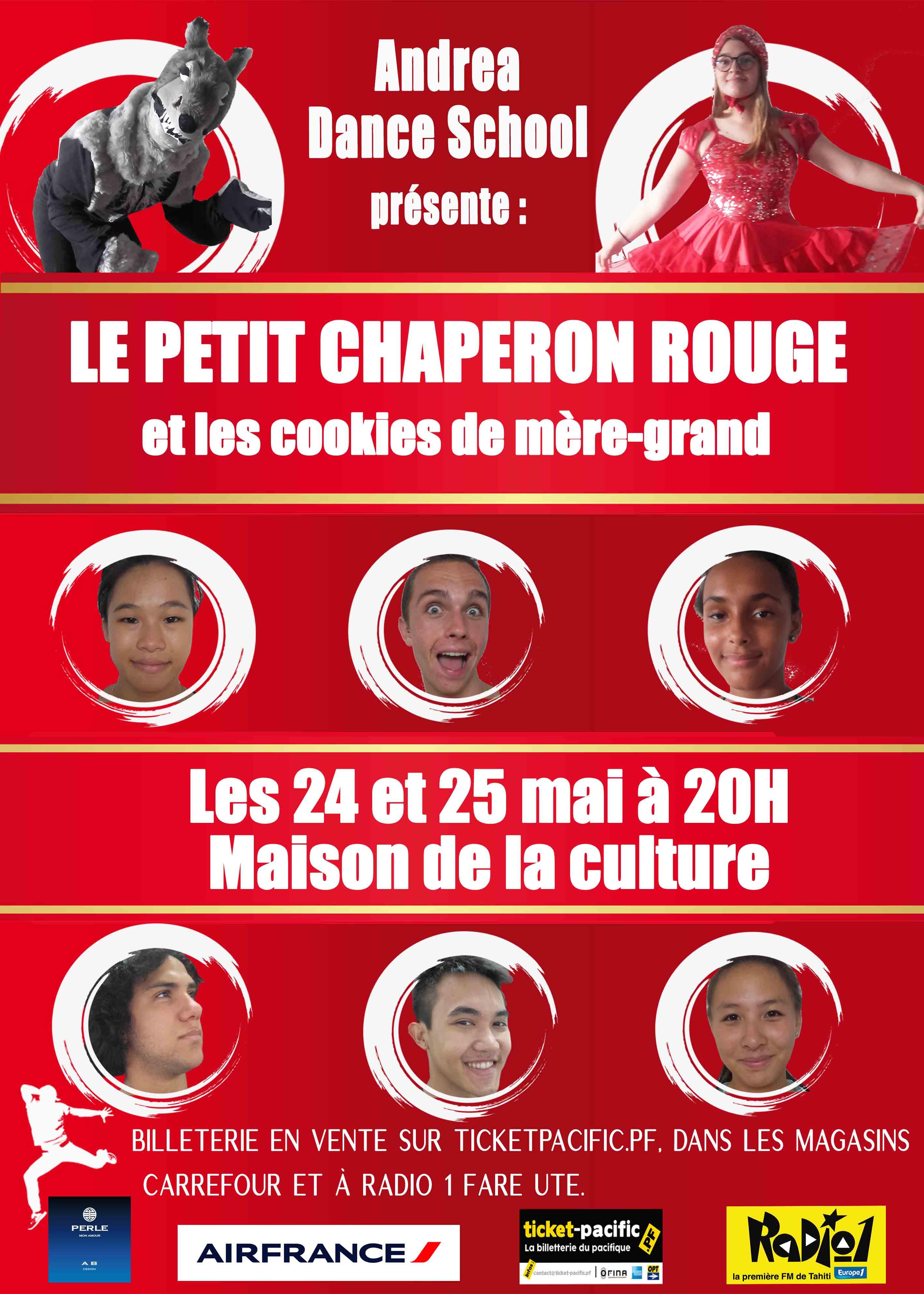 Andréa dance school revisite l'histoire du Petit Chaperon rouge