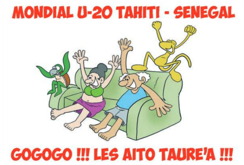 """""""Faaitoito  Aito Taure'a """" par Munoz"""
