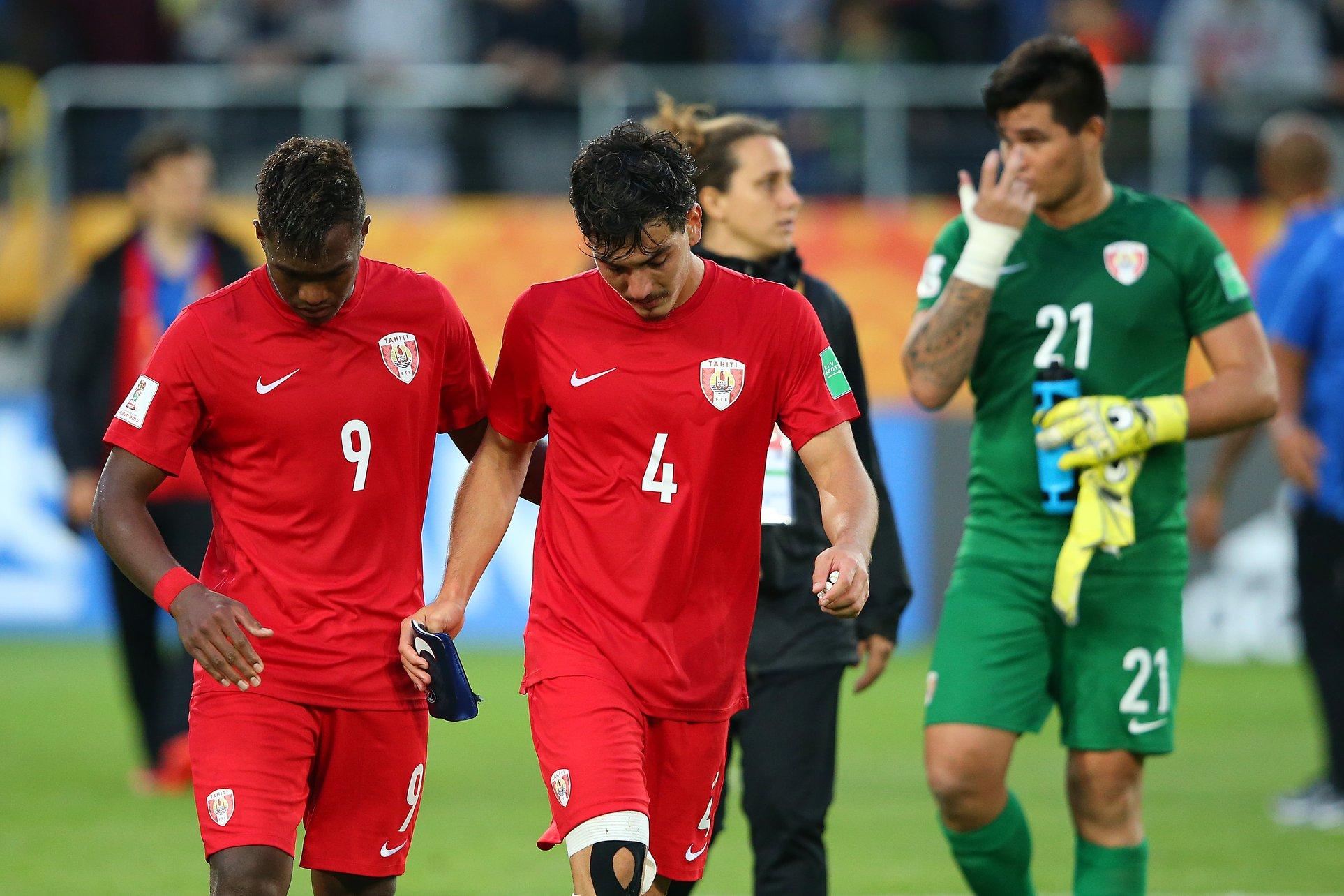 Tahiti s'incline 3-0 mais l'équipe n'a pas démérité © FIFA via Getty Images