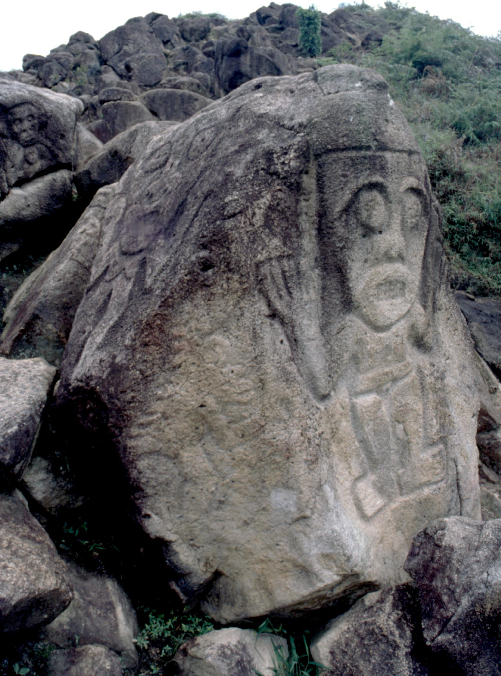 Toute la région autour de San Agustin porte, gravées sur des rochers, les marques d'un riche passé religieux.