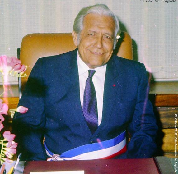 Jean Juventin a été maire de Papeete de 1977 à 1993. (Photo : Ville de Papeete).